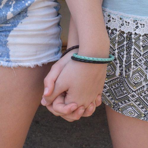 Best friend leather bracelets