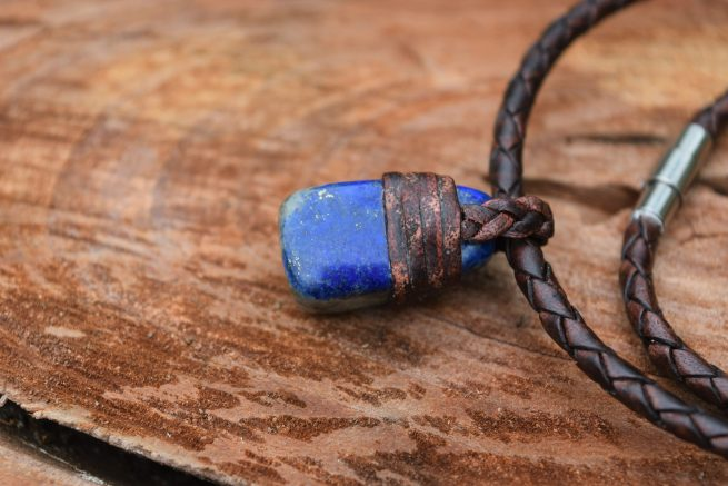 unique lapis lazuli necklace jewellery