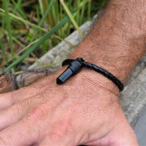 MensBlack Tourmaline Bracelet