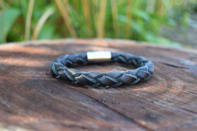 Mens Large Leather Bracelet made in Australia