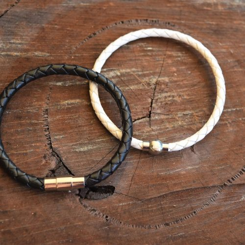 relationship yin and yang leather bracelets