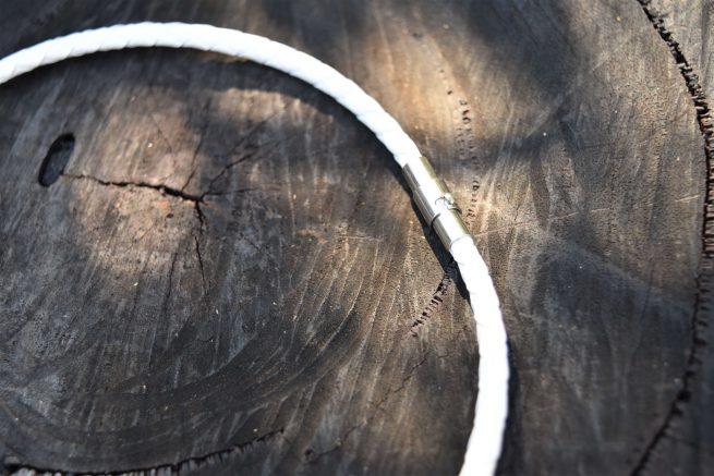 White Leather Necklaces Australia for Children