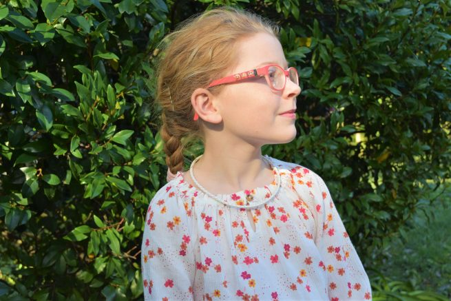 White Leather Necklaces for Kids