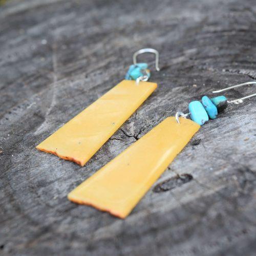 Avneturine Turquoise Earrings Australia