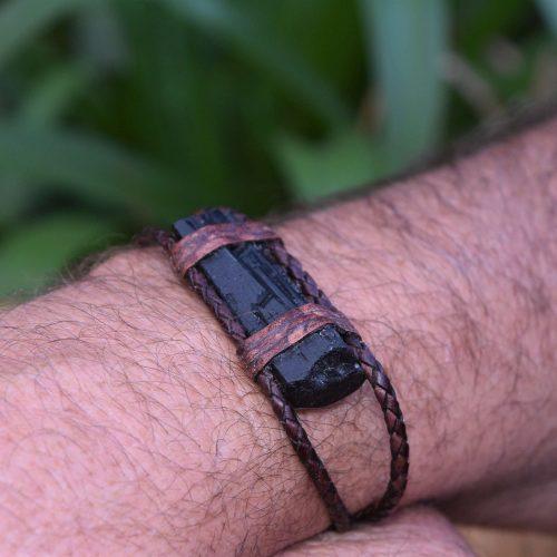 Raw Tourmaline Bracelet Australia