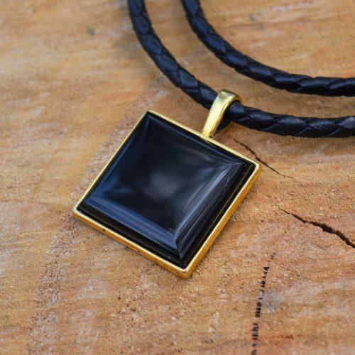 black tourmaline pendants for october birthstone